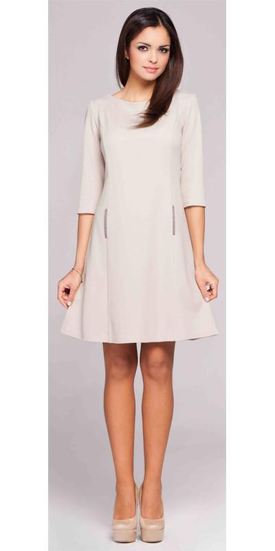 8332305276 Sukienki z rękawem 3 4 - sklep internetowy E-lady.pl
