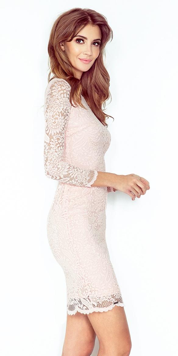 2cd1fb2d36 Sukienka NUMOCO 145-4 z KORONKI Numoco SAF- sklep internetowy E-lady.pl