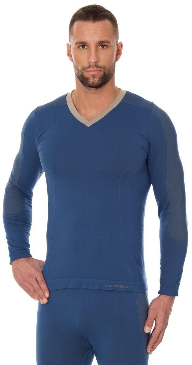 76b5a21a Koszulka męska długi rękaw LS12330